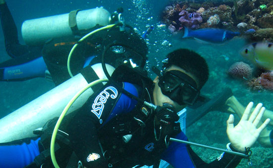 subic bay diving